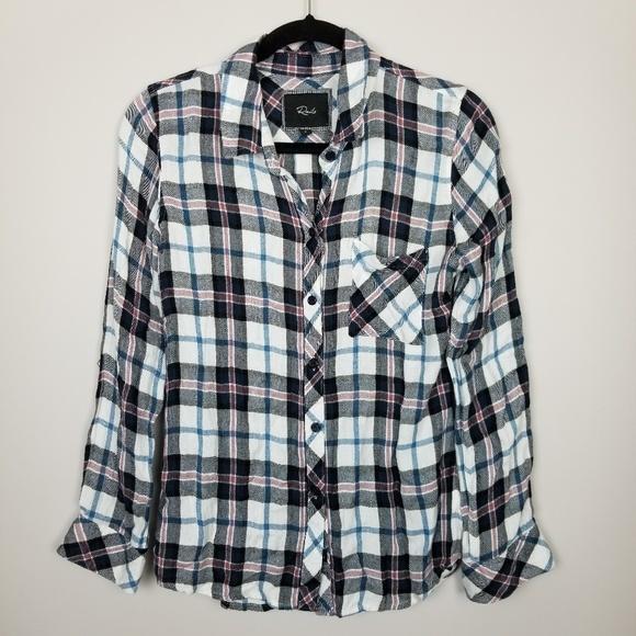 Rails Tops - Rails check flannel shirt